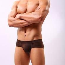 """Крутые коричневые мужские трусы """"Голиаф""""12630"""