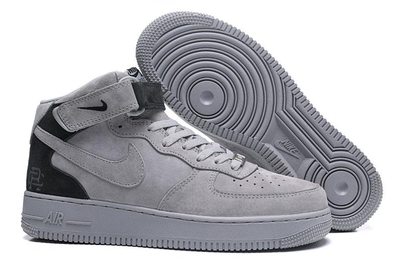 3f1a672f Кроссовки Nike Air Force 1 Mid Reigning Champ Reflective