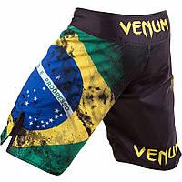 Шорты Venum Brazilian Flag Fightshorts - Black, фото 1