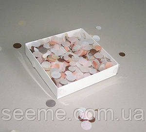 Коробка с пластиковой крышкой 150х150х30 мм