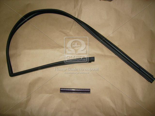 Уплотнитель стекла опускн. ВАЗ 2108 передн. левый (пр-во БРТ) 2108-6103293Р