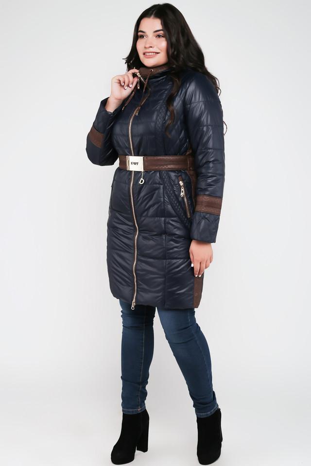 dc632769b8f Длинная Демисезонная Женская Куртка с Капюшоном и Поясом Китай 6010 ...