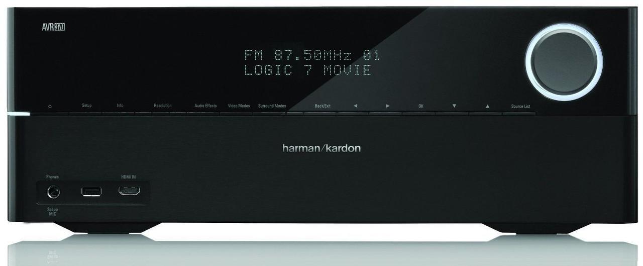Harman/Kardon AVR 370 HiFi AV Receiver Home Cinema 7.2 ресивер, фото 1