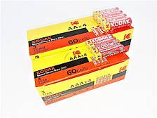 Батарейки солевые Kodak АА пальчиковые, R 06, упаковка — 60 шт, фото 2