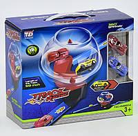 Детский гоночный автотрек 16 деталей 2 машинки, в коробке