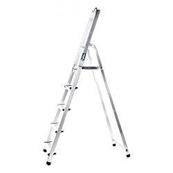 Лестница алюминий 5 ступеней HOHER 310 см