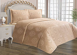Покрывало Tropik home Lotus Beige