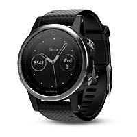 Смарт часы Garmin fenix 5S Black with black band