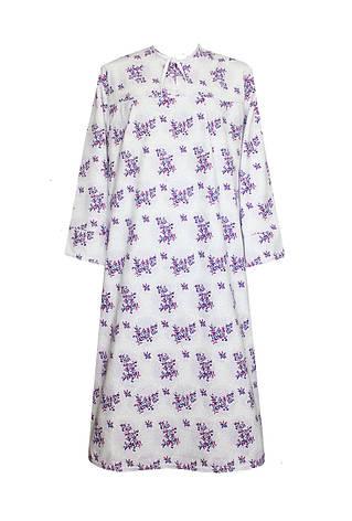 Ночная рубашка женская теплая разм. 54, фото 2