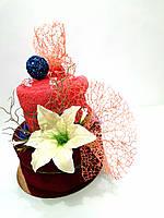 Торт из махровых полотенец Вуаль