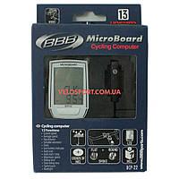 Велокомпьютер BBB BCP-22 MicroBoard проводной 13 функций