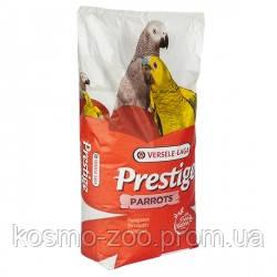 Versele-Laga Prestige Parrots ВЕРСЕЛЕ-ЛАГА ПРЕСТИЖ КРУПНЫЙ ПОПУГАЙ корм для крупных попугаев 15 кг