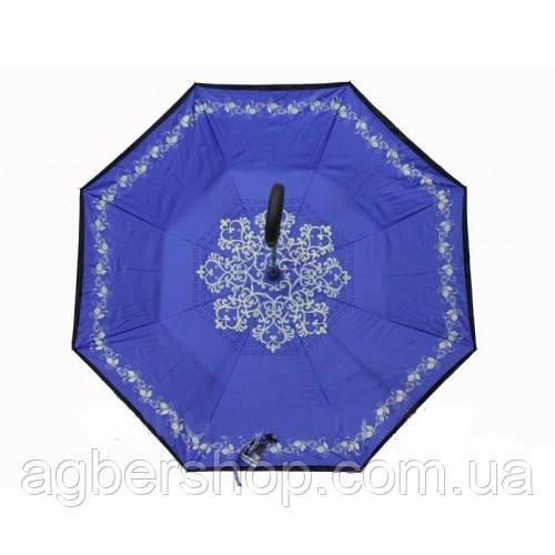 Зонт обратного сложения (55504/с)