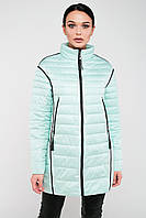 Демисезонная женская куртка без капюшона Китай 6011, фото 1