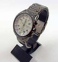 Мужские наручные часы Tissot 1853 серебристые с белым циферблатом