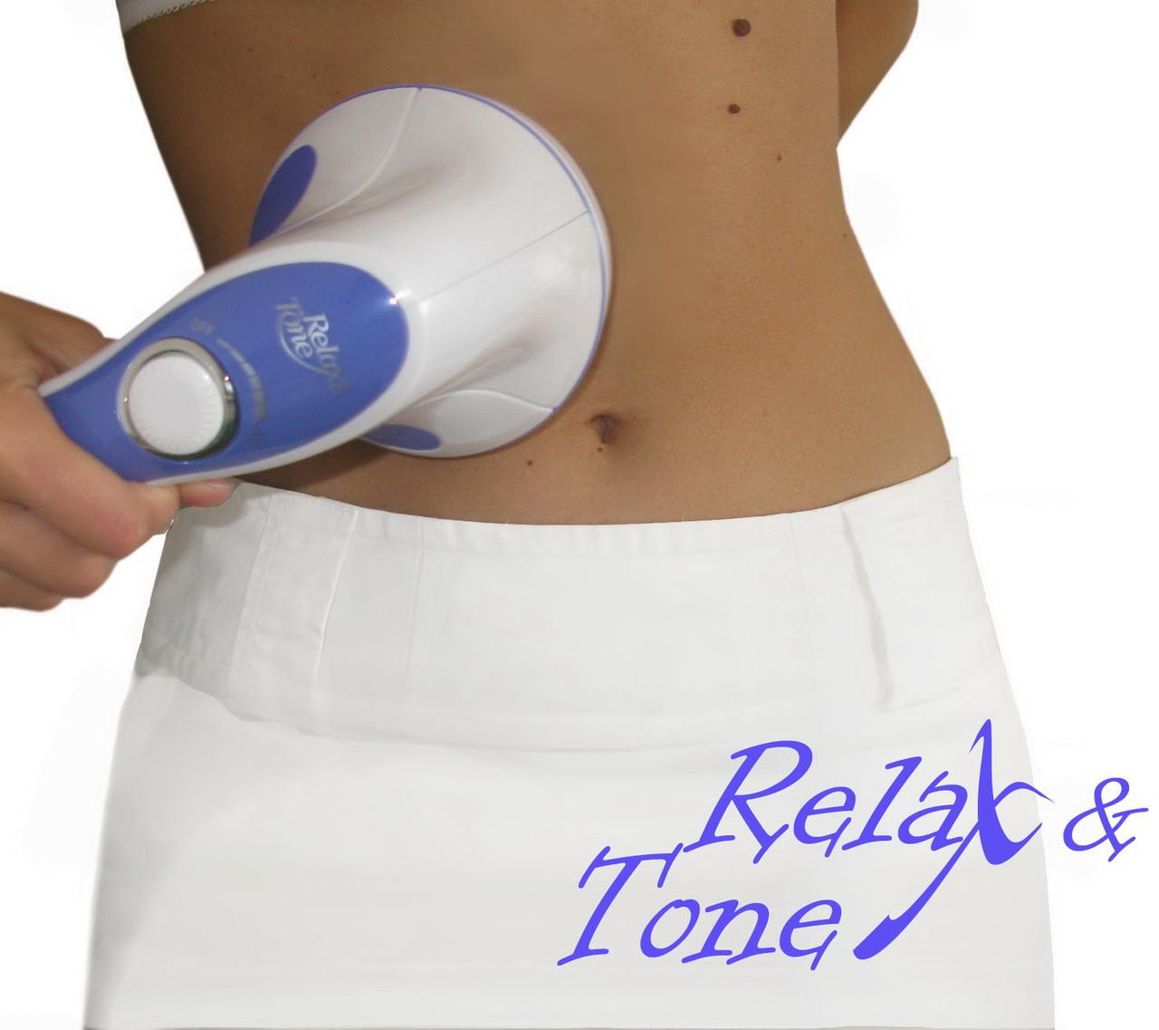 Антицеллюлитный массажер relax tone аппарат для вакуумного массажа эффект