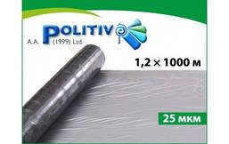 Пленка мульчирующая Politiv E1144 серебристо-черная