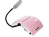 Вытяжка настольная маникюрная с LED лампой Simei 858-6