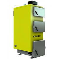 Котел длительного горения Kronas Unic 98 кВт, c турбиной и автоматикой,98 кВТ