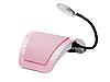 Вытяжка настольная маникюрная с LED лампой Simei 858-6, фото 2
