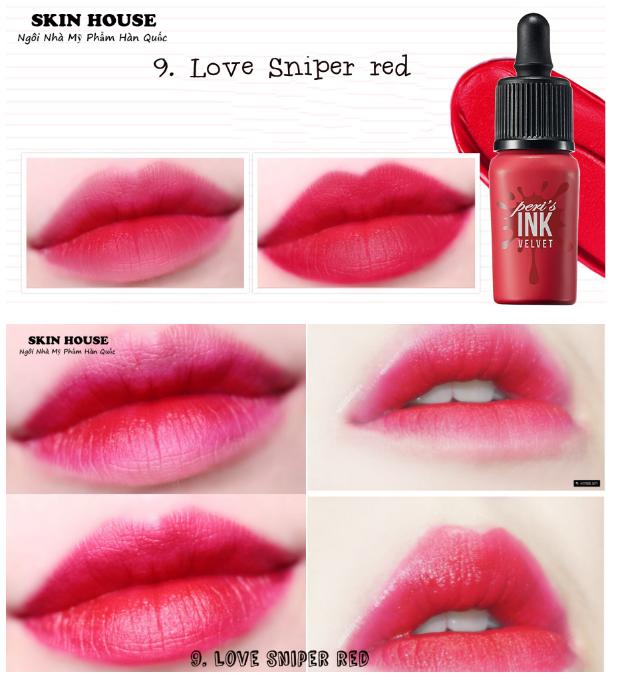 Матовая помада-тинт PERIPERA Ink Velvet Lip Tint