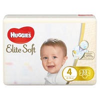 Подгузники Huggies Elite Soft 4 (8-14 кг) 33 шт.