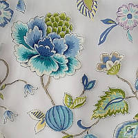 Ткани для штор, гардин ANNAPURNA C - 02-BLUE