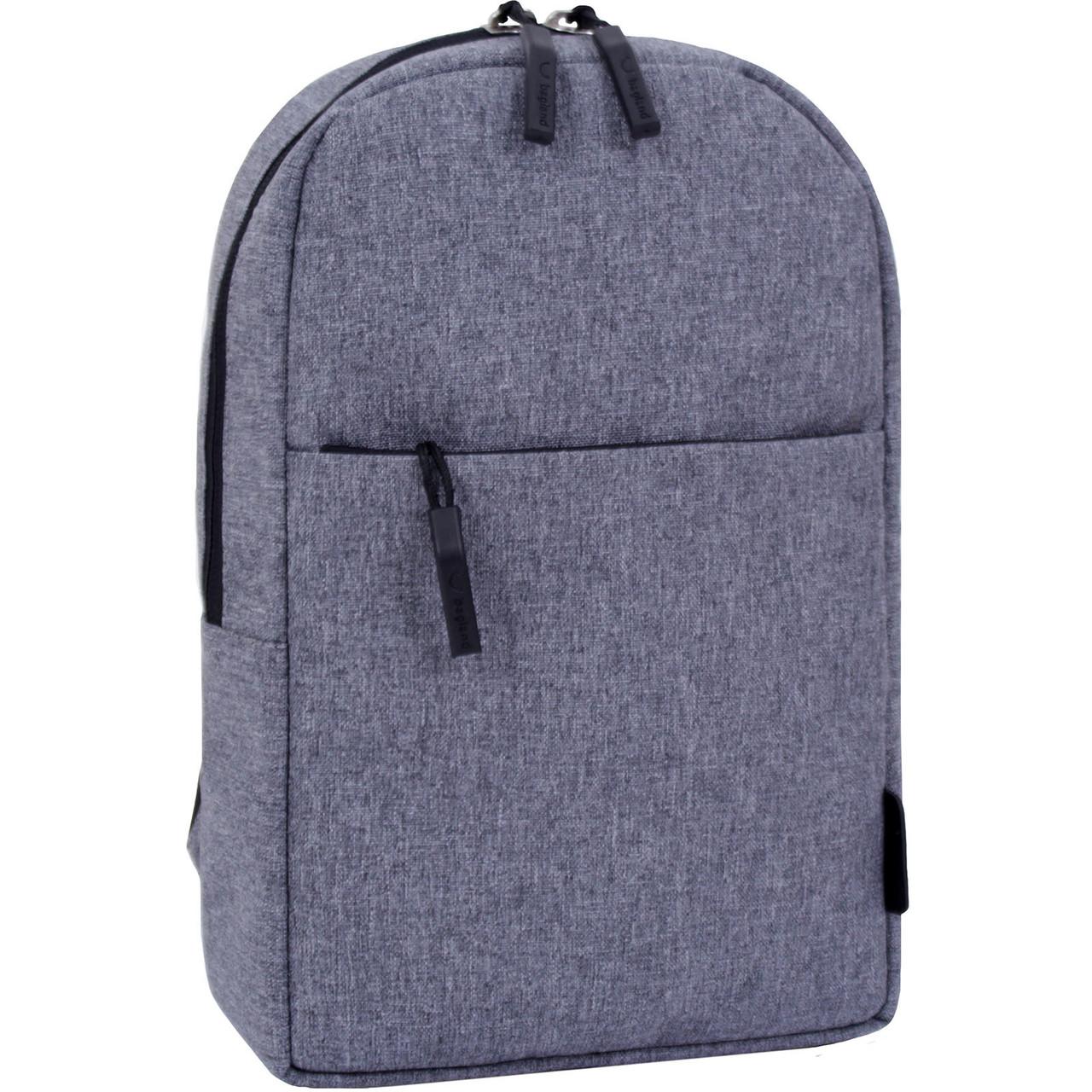 Рюкзак городской Bagland Kidney 3 л. серый
