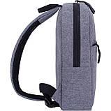 Рюкзак городской Bagland Kidney 3 л. серый, фото 2