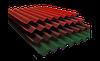 Шифер (8волн)  пигментированный (цвета: керамика, графит) 1,13м*1,75м*5,8 Балаклея