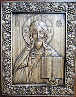 Резные иконы. Икона Господь Вседержитель