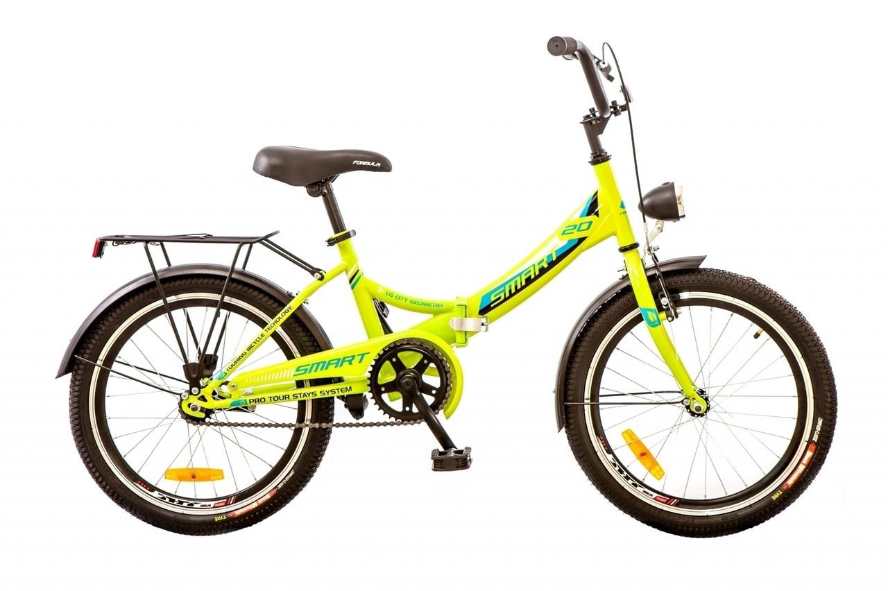 """Велосипед подростковый 20"""" FORMULA SMART 2019"""