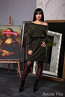 Женское трендовое платье (3 цвета), фото 1