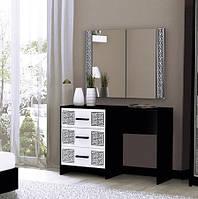 """Туалетний столик """"Віола""""  від Миро-Марк (глянець білий ,чорний мат)., фото 1"""