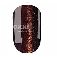 Гель-лак OXXI кошачий глаз №102 (темный коричневый, магнитный), 8 мл