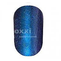 Гель-лак OXXI хамелеон кошачий глаз №008 (сине-фиолетовый с голубым магнитным бликом), 8 мл