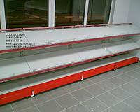 Стеллаж торговый пристенный. Торговое оборудование WIKO (ВИКО). Стеллажи в продуктовый магазин