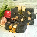 Мыло ручной работы с черной глиной, фото 5