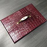 Меблева ручка з керамікою MAR 7456 096 F1 бронза, фото 2