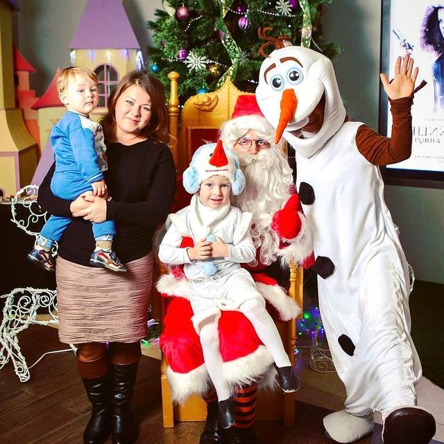 санта клаус киев, снеговик и эльфы новогодний утренник корпоратив киев