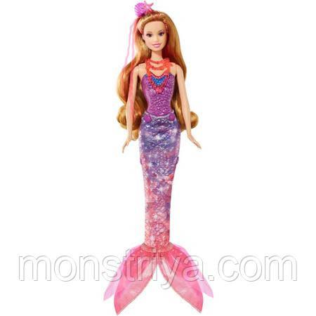 Barbie Кукла Русалочка Роми из м/ф Barbie Тайные двери (Платье -Трансформер 2в1)