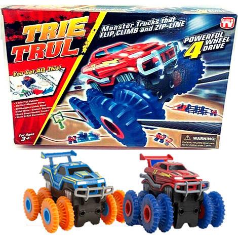 Трасса МОНСТР ТРАКИ ( Trix Trux ) 2 машинки в комплекте