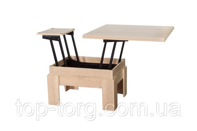 Система розкладки столу-трансформера Дельа дуб сонома
