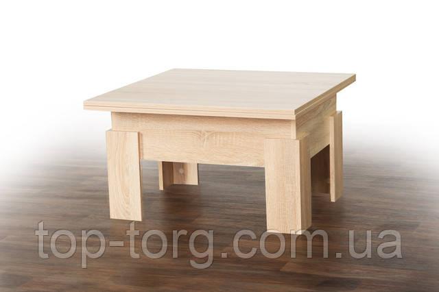 Журнальний стіл трансформер Дельта дуб сонома