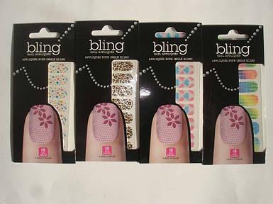 Наклейки для ногтей Bling