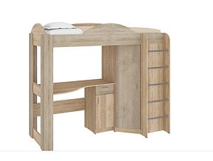 Кровать-чердак со столом и шкафом Орбита Пехотин