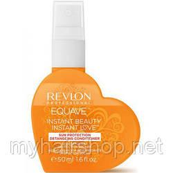 Кондиционер для защиты от солнца несмываемый Revlon Equave Perfect Summer Detangling Conditioner 50 мл