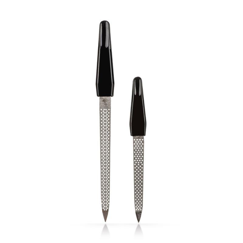 Набор пилок для ногтей Zinger, 2шт, перфорированных pro