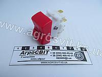 Выключатель аварийной сигнализации 12 / 24V (прямоугольный), кат. № Пкл2Б-07.49, фото 1