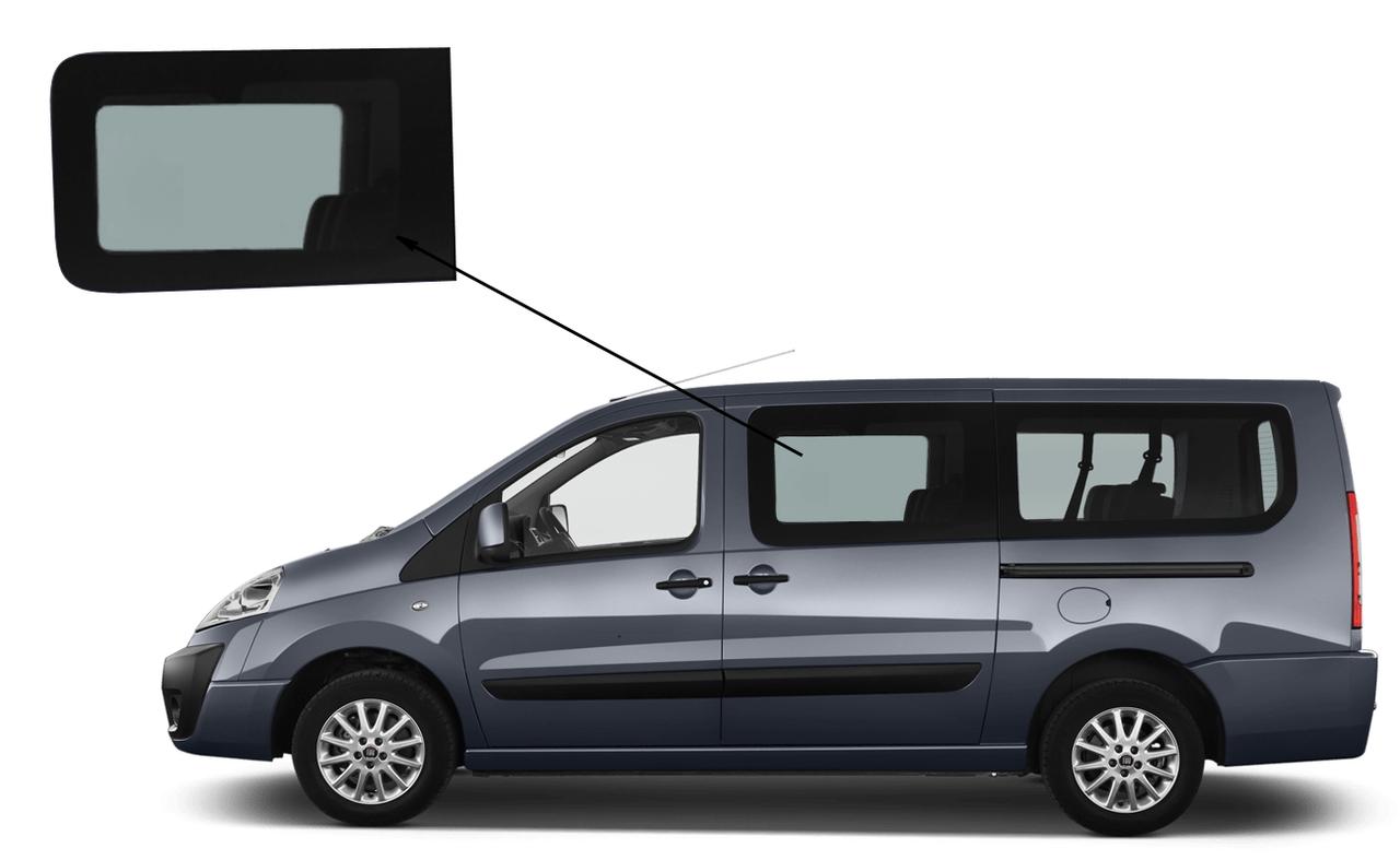 peugeot expert пассажирское стекло